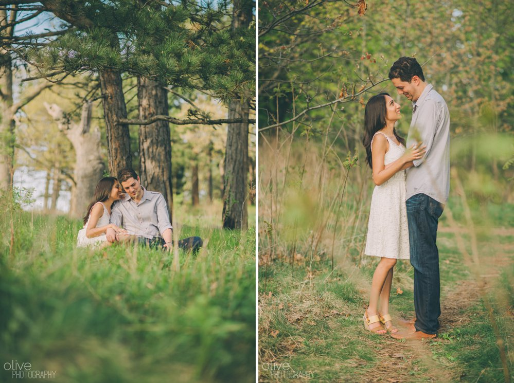 High Park engagement photos - Olive Photography