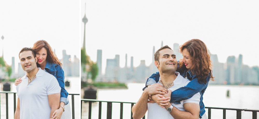 Toronto Island Engagement Photos - Olive Photography