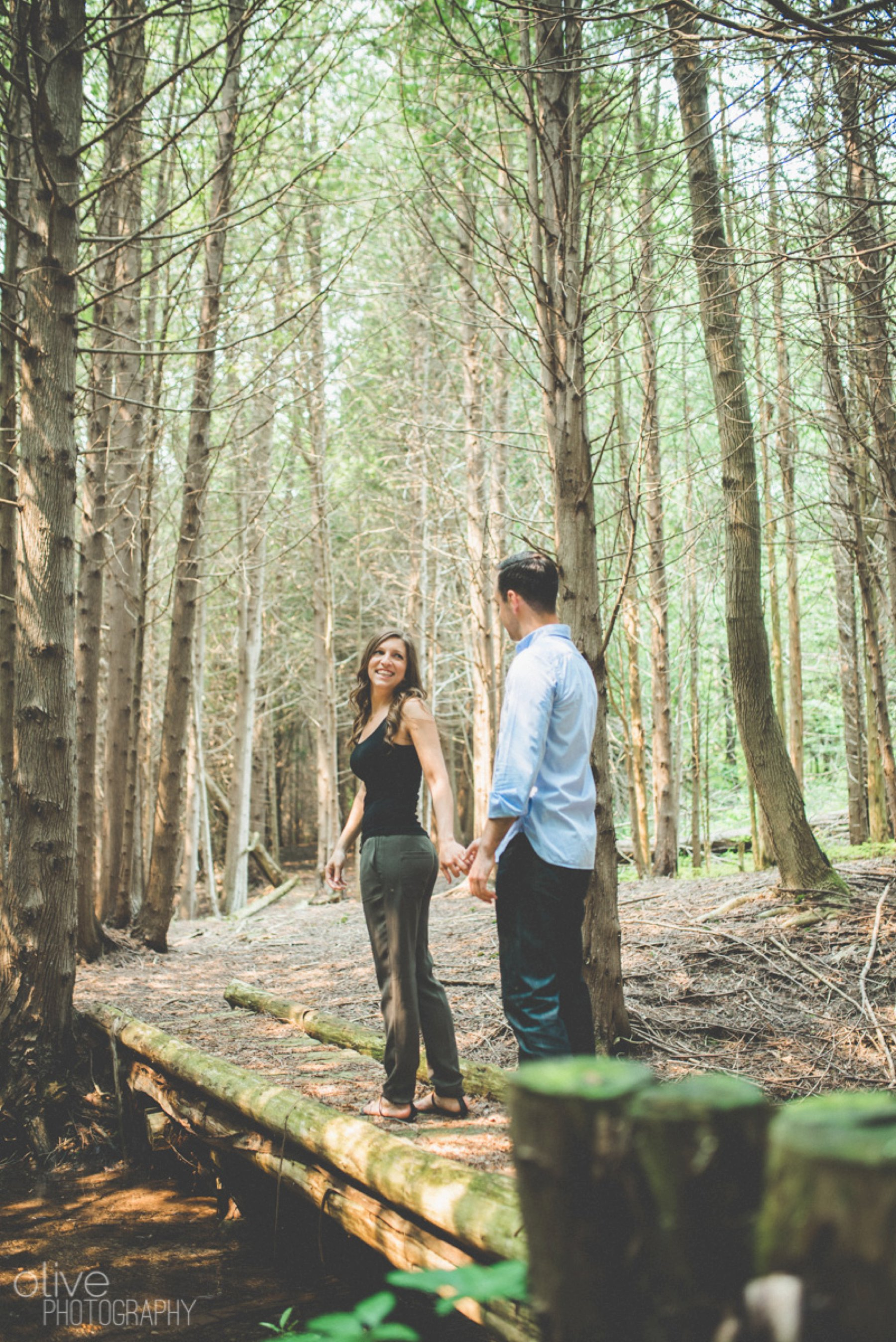 creemore cottage engagement ontario