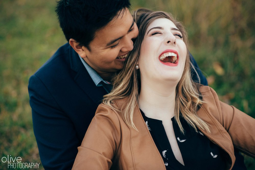 Toronto engagement photos - Olive Photography