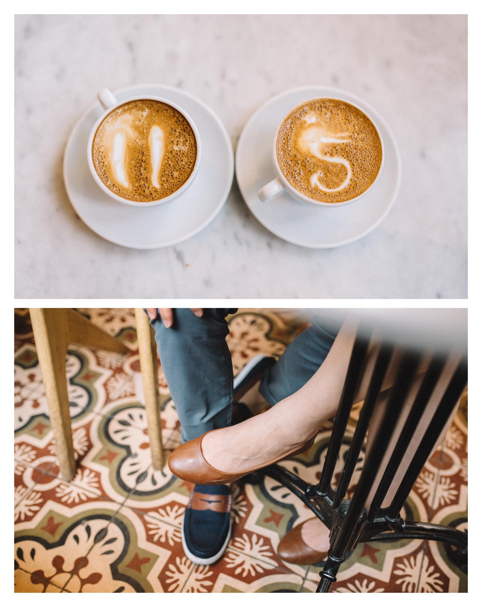 Toronto coffee shop engagement