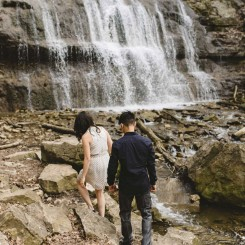 Hamilton Waterfall Engagement – Queenie & Jason