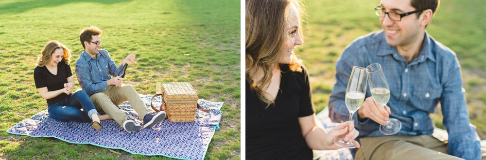 Toronto Picnic Engagement Session | Olive Photography