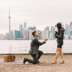 Toronto Proposal Photography – Andy & Viv