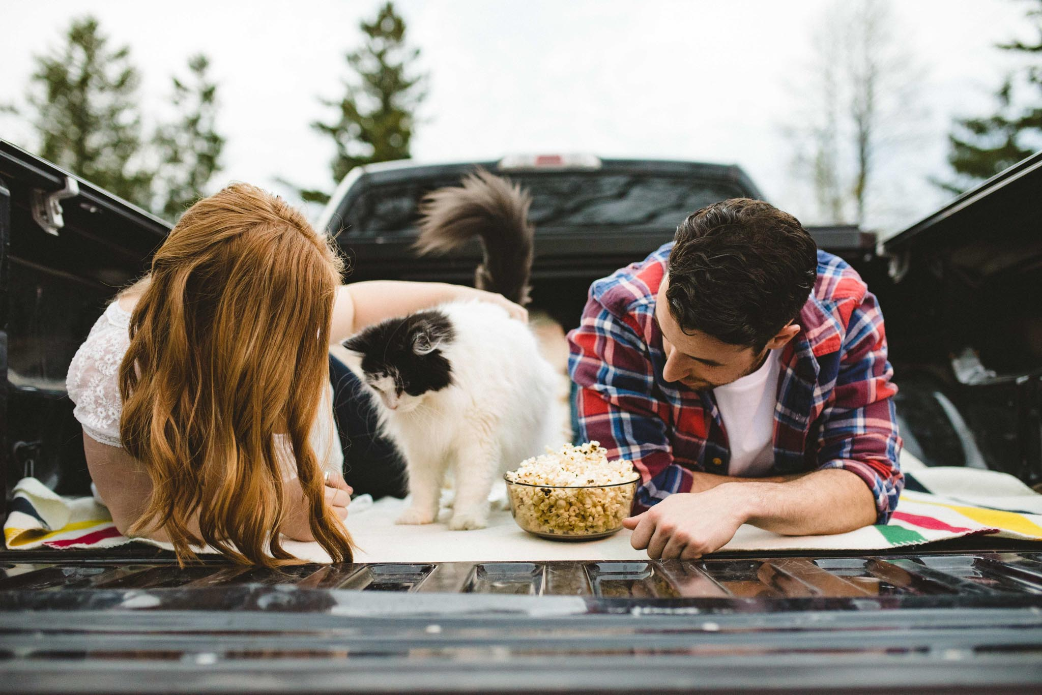 Cat Engagement Photos | Olive Photography