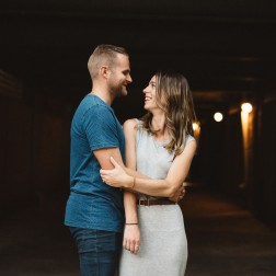 Relaxed Toronto Engagement Photos – Carolyn & Nick