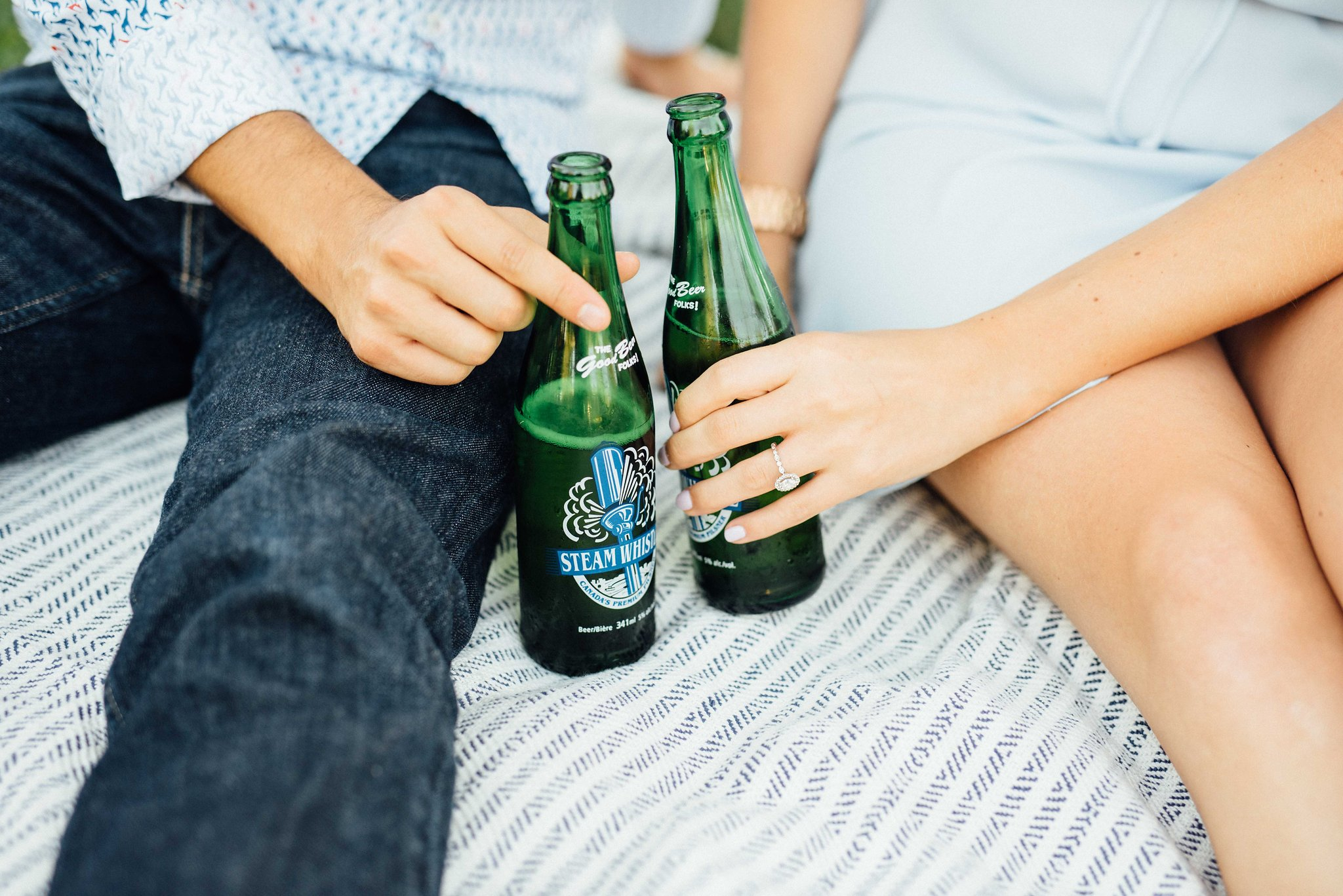 Toronto Brewery Engagement Photos