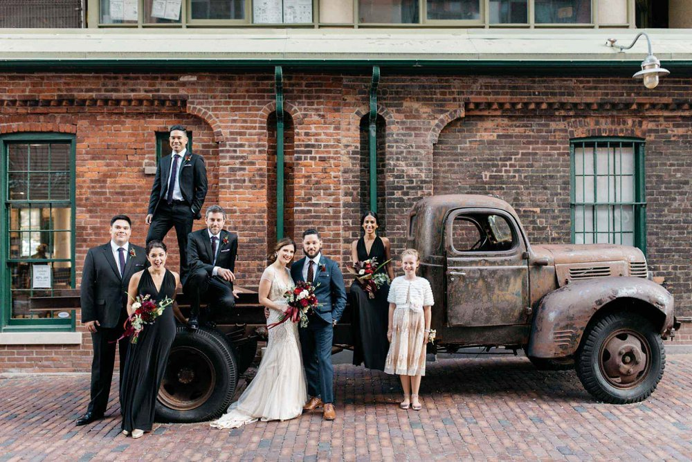 Disitllery District Wedding Photos | Olive Photography