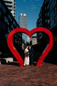 Distillery District Wedding - Olive Photography
