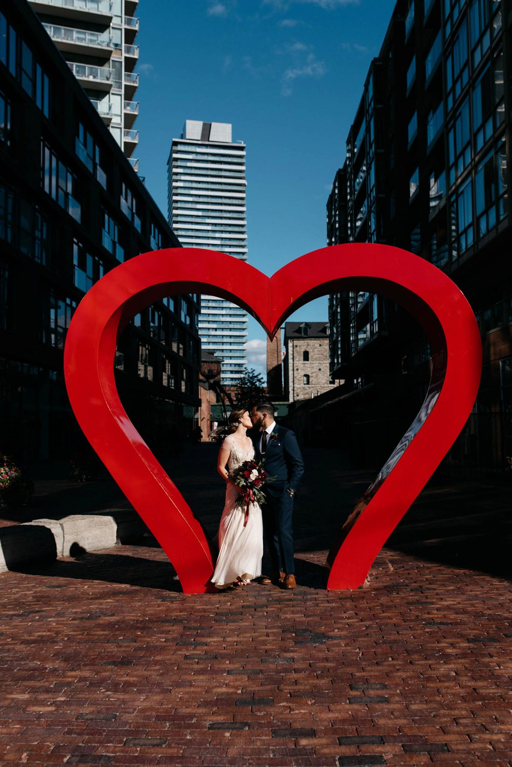 Distillery District Wedding Photos - Olive Photography