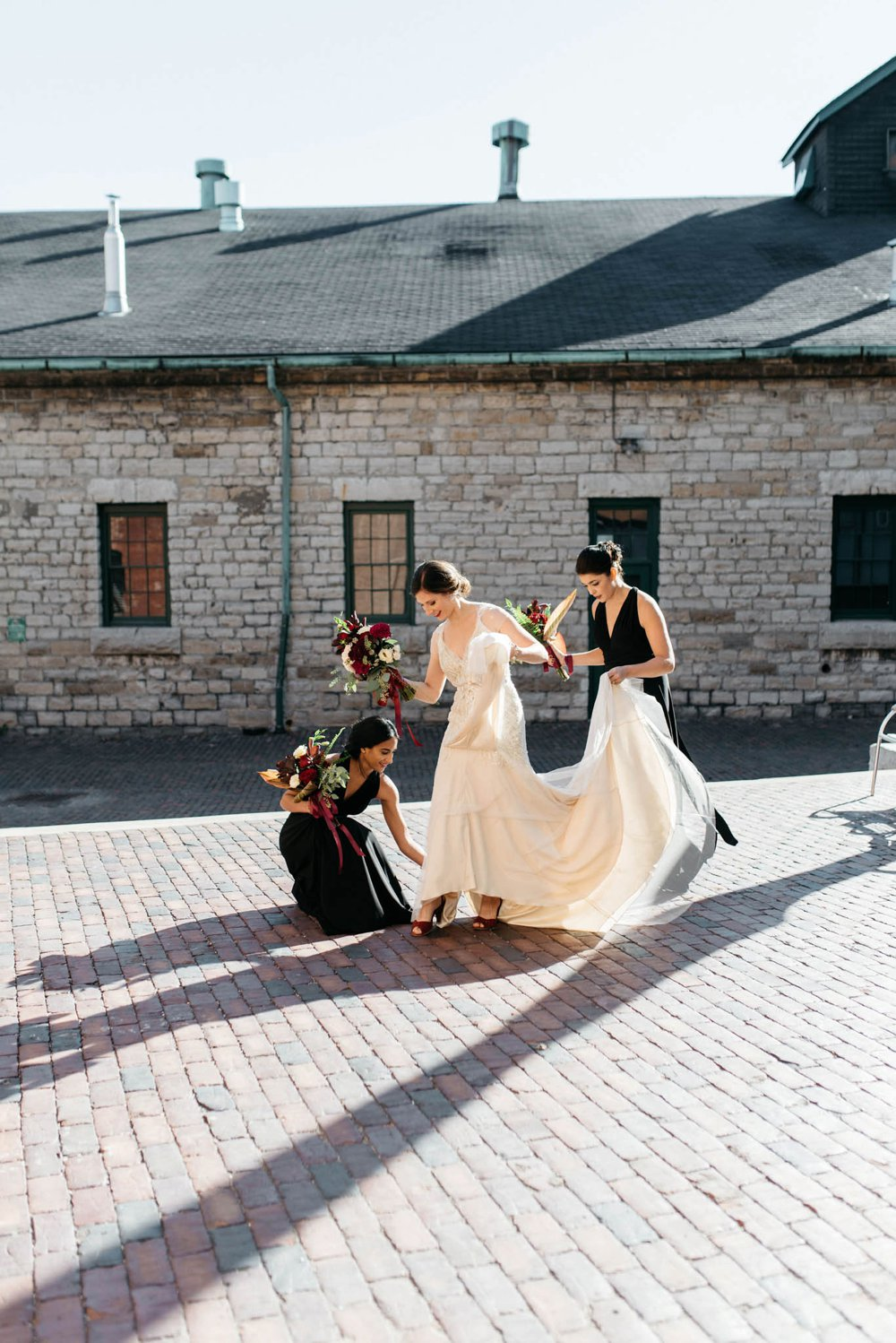 Distillery District Wedding Photography - Olive Photography