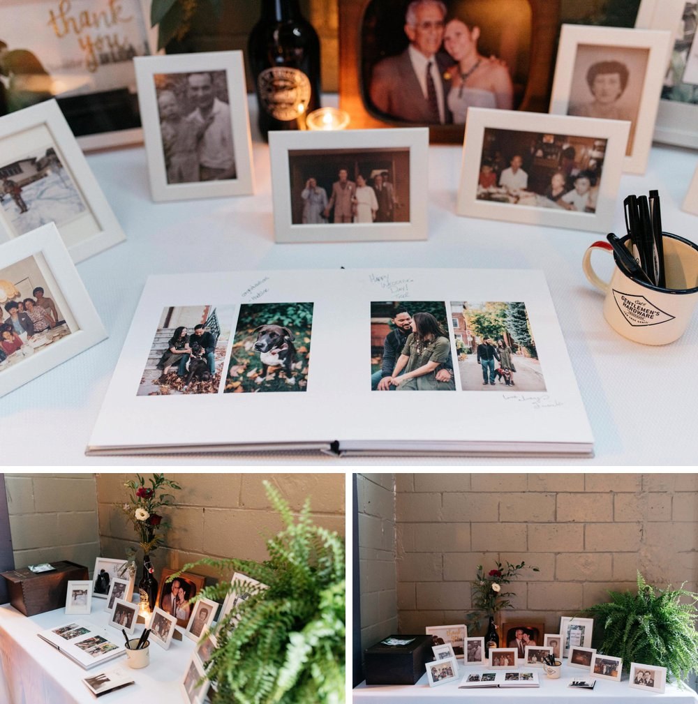 photo guest signing book | Olive Photography