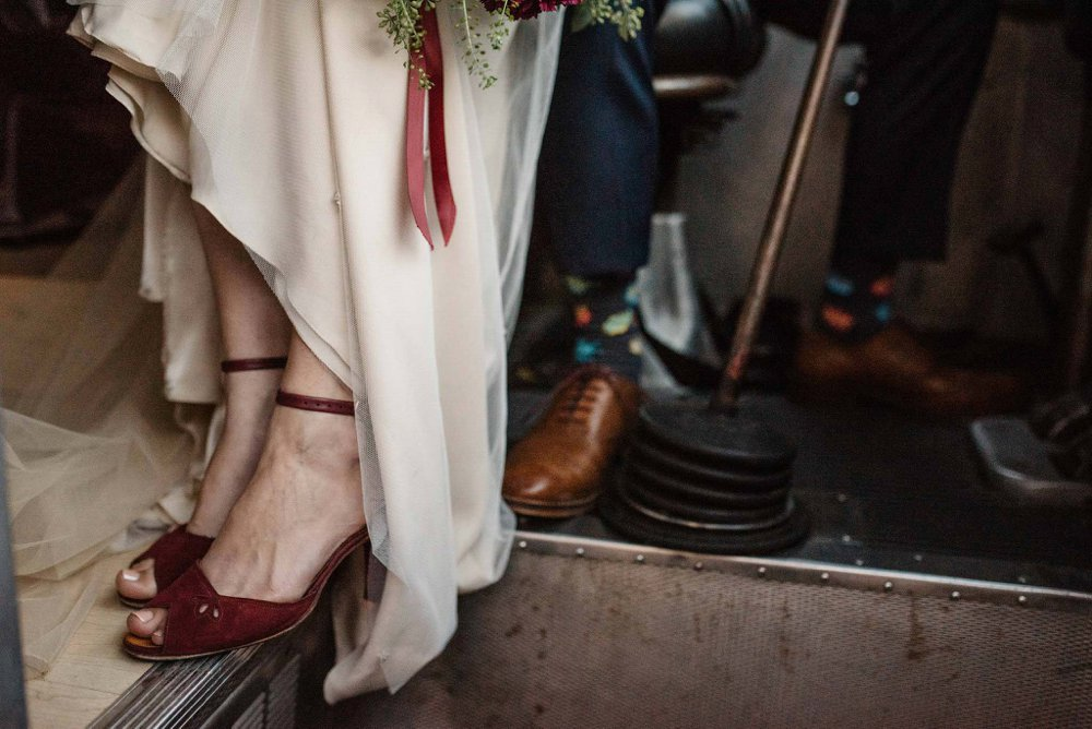 vintage wedding shoes | Olive Photography Toronto