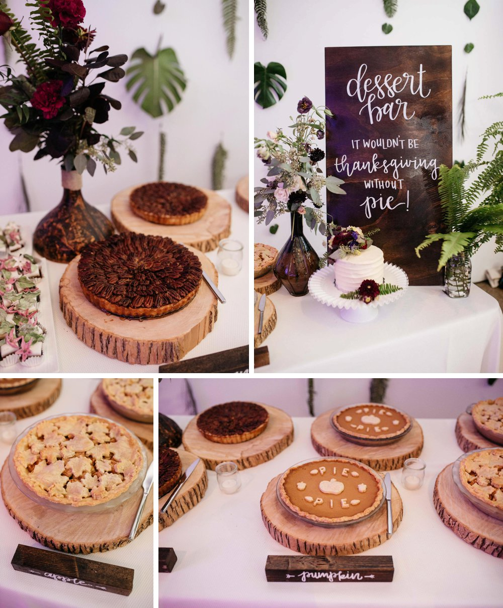 pie bar wedding - Olive Photography