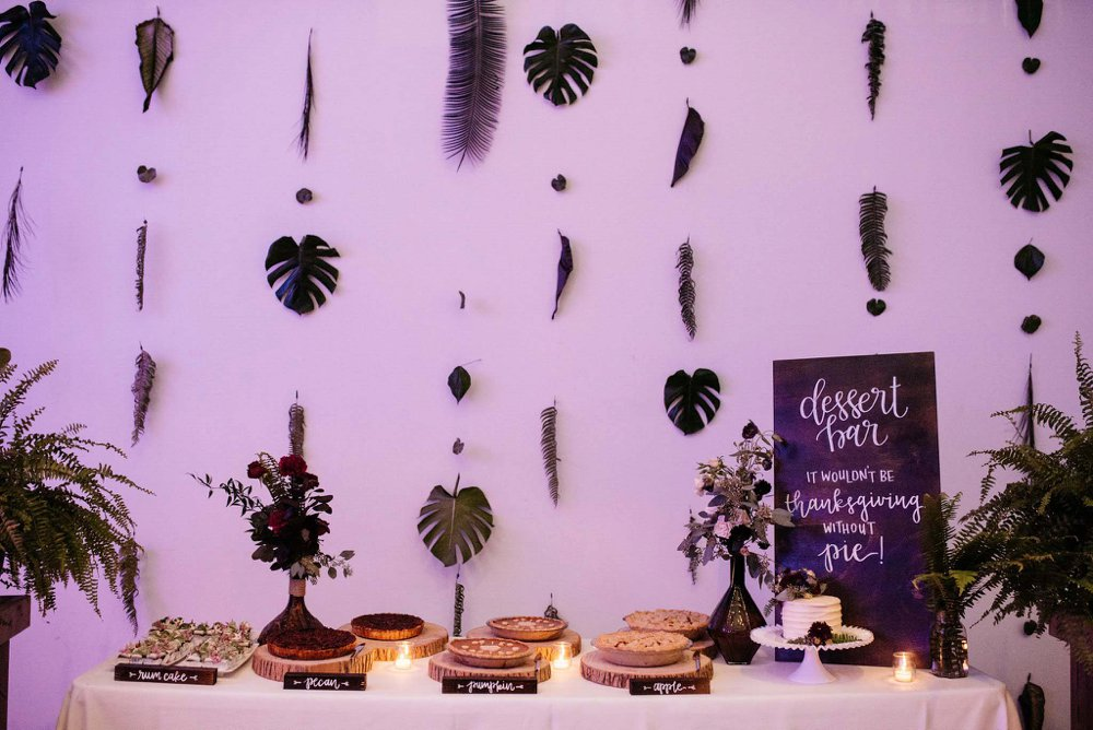 wedding dessert bar | Olive Photography
