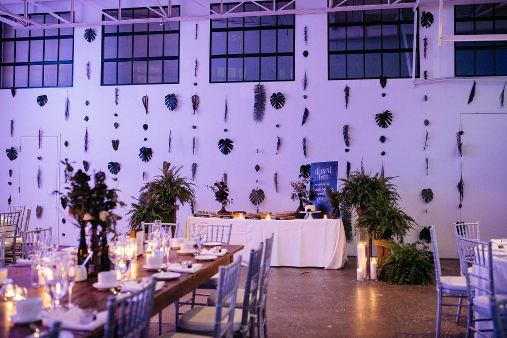 wedding reception decor - Olive Photography Toronto