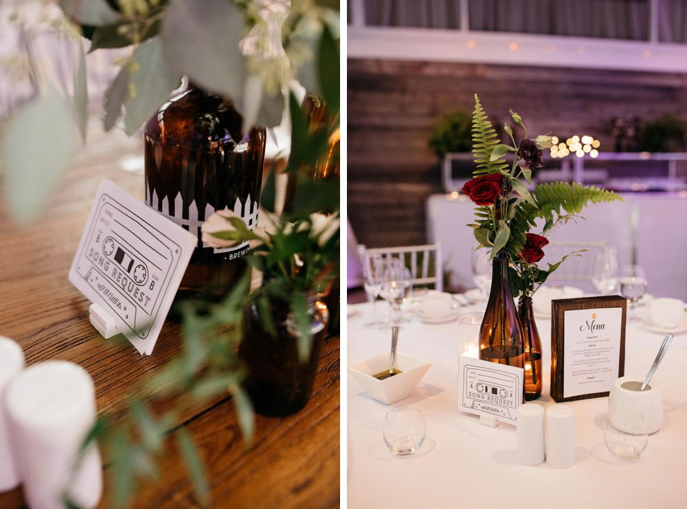 boho wedding centrepieces | Olive Photography