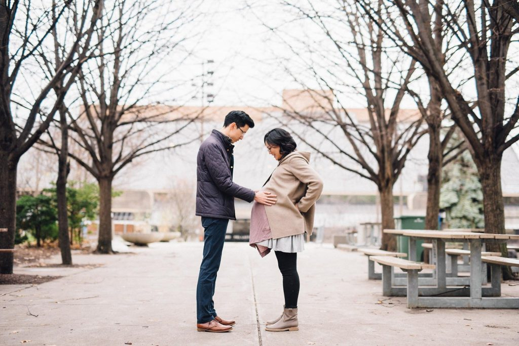 Toronto Maternity Photography | Eva & David