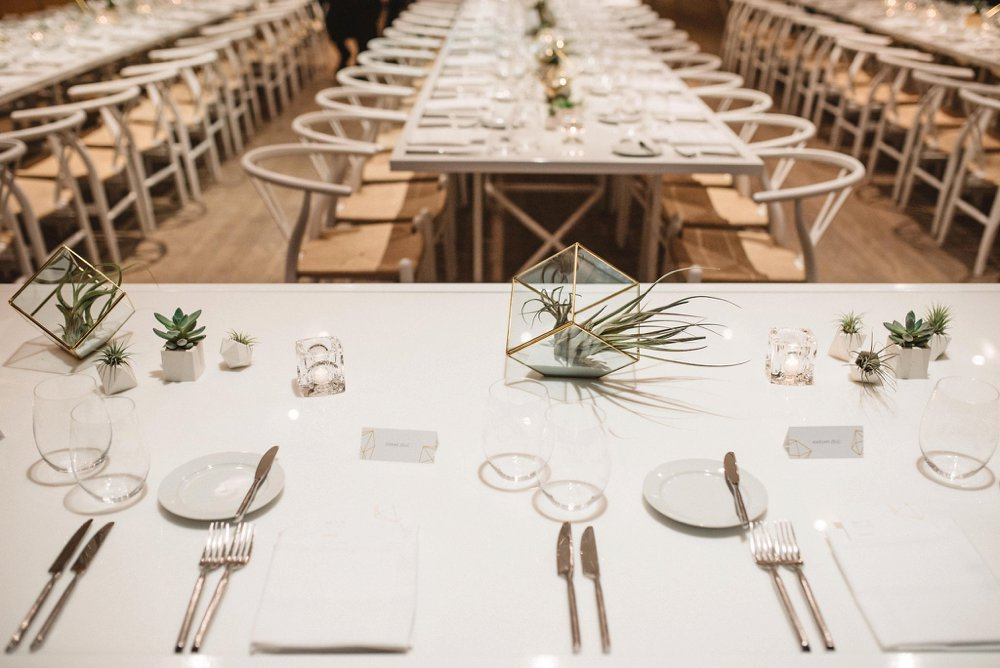 Succulent wedding decor | Olive Photography