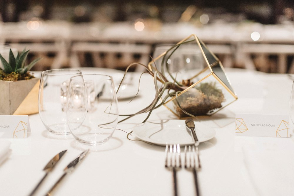 Modern wedding decor Toronto | Olive Photography