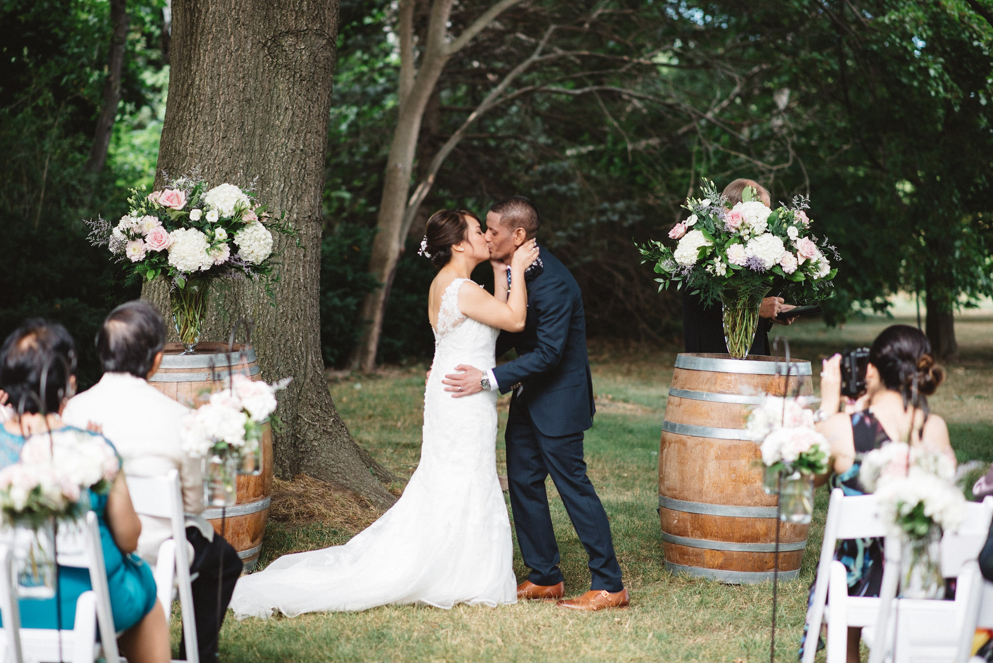 Kurtz Orchards Wedding Photos | Olive Photography
