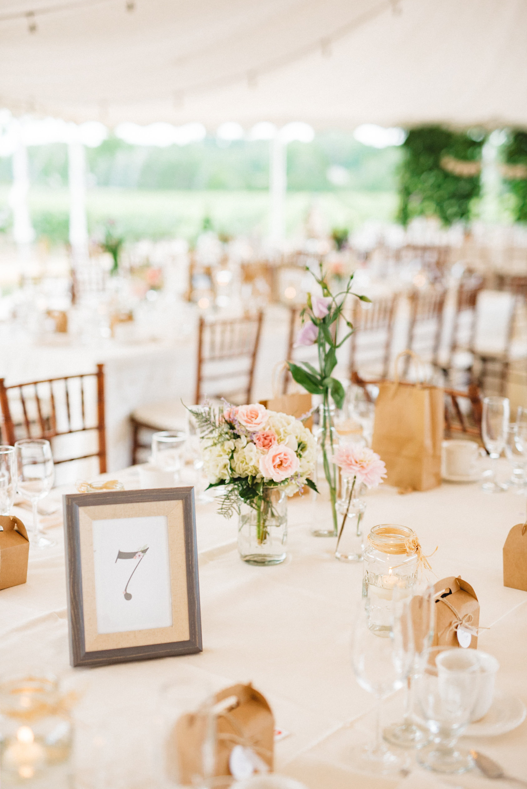 Picture Frame Table Numbers | Olive Photography Toronto