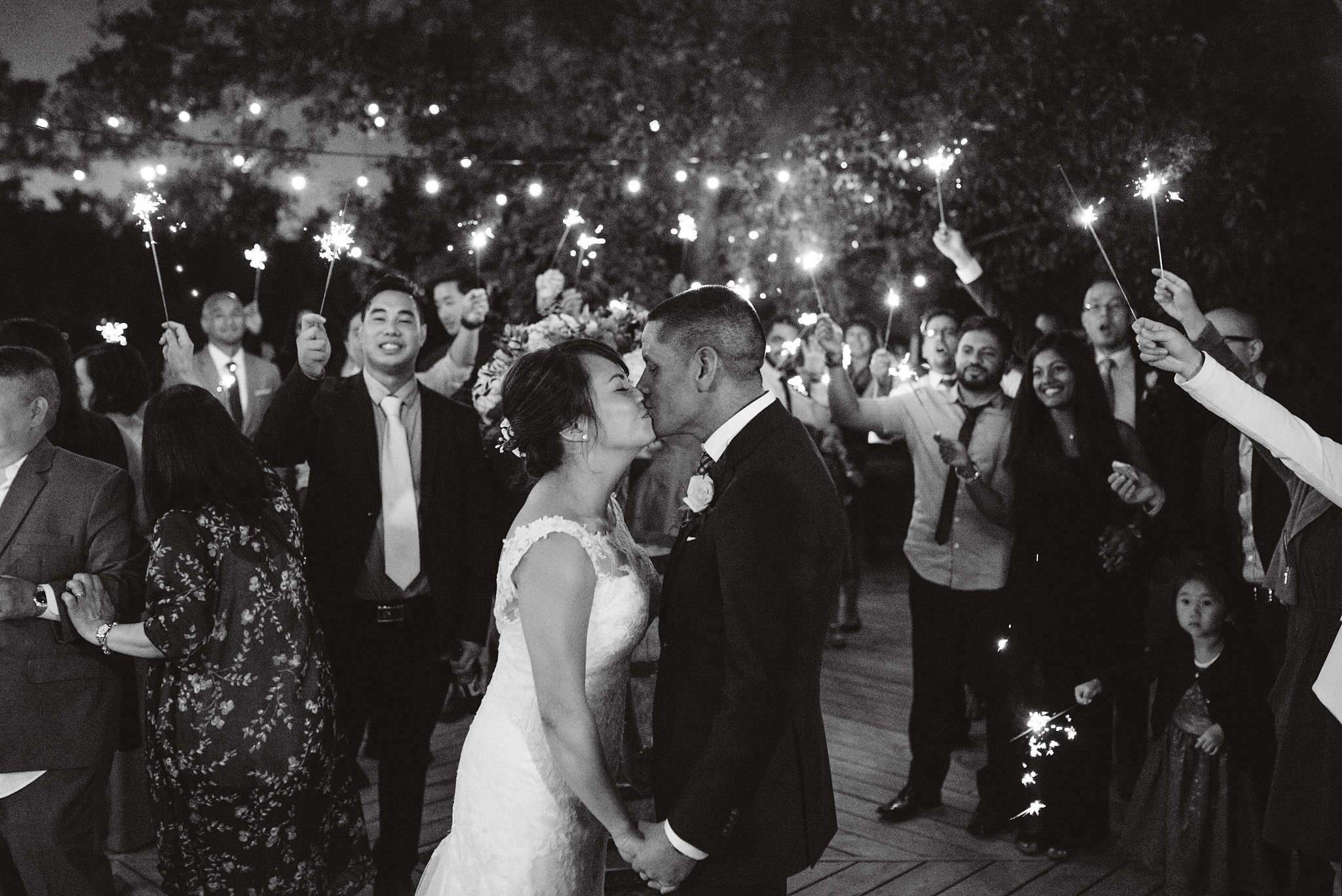 Sparkler Exit Photos | Olive Photography Toronto