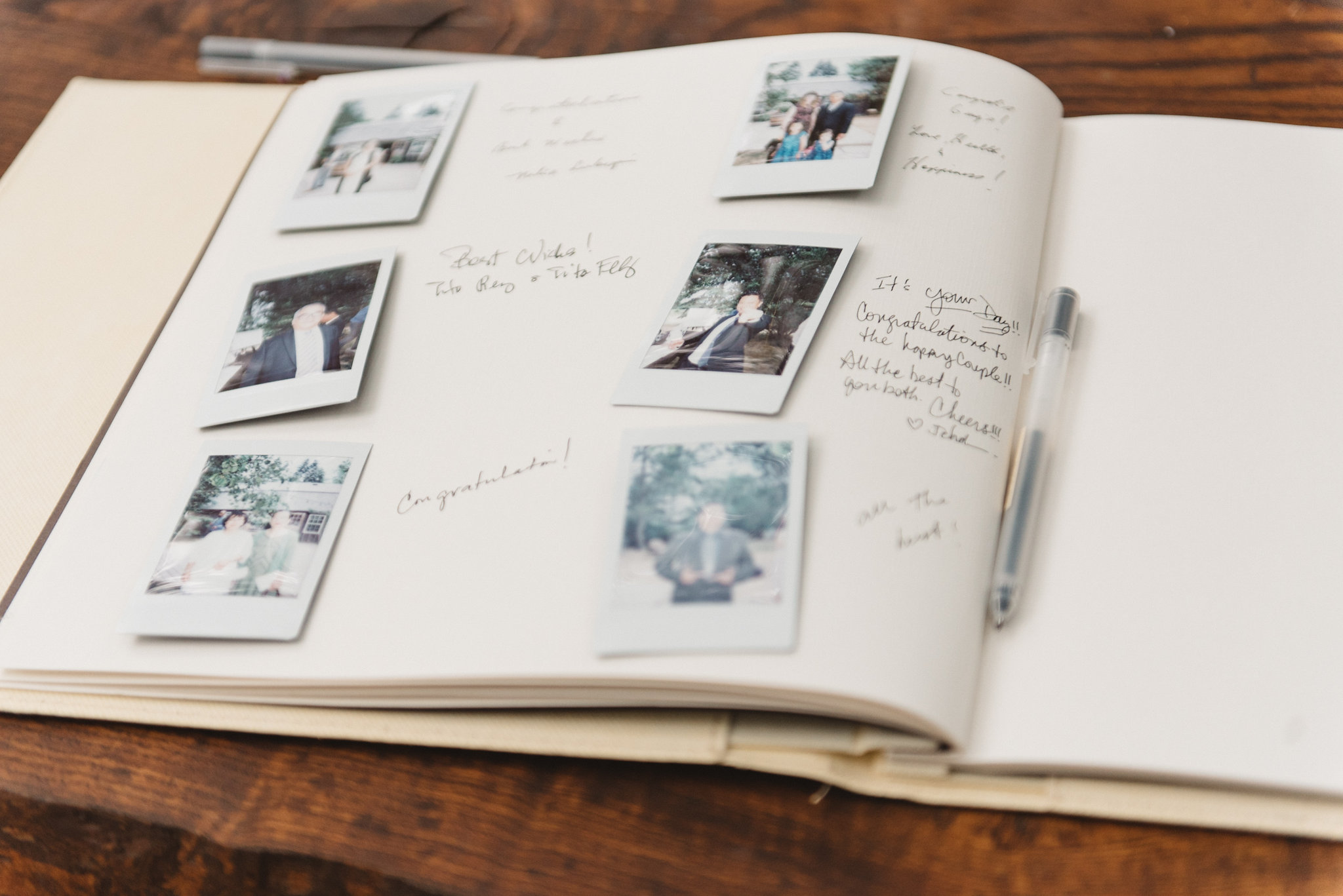 Polaroid Guestbook | Olive Photography Toronto