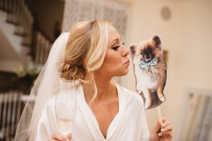 Dog at wedding photos - Olive Photography