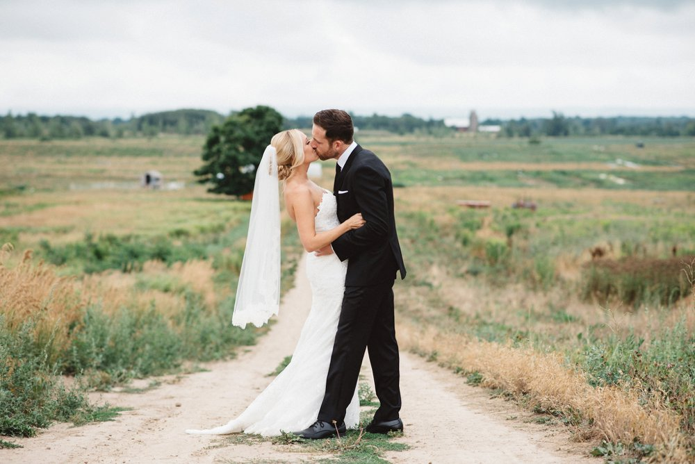 Ontario Farm Wedding - Olive Photography