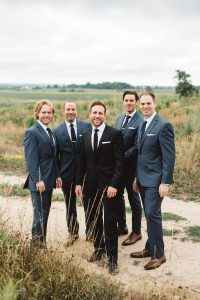 Navy Blue Groomsmen Suits Photos - Olive Photography