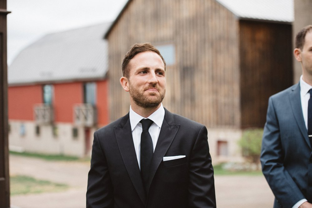 Groom reaction photos - Olive Photography