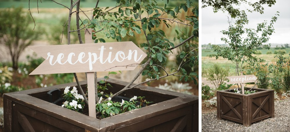Reception calligraphy signs - Olive Photography
