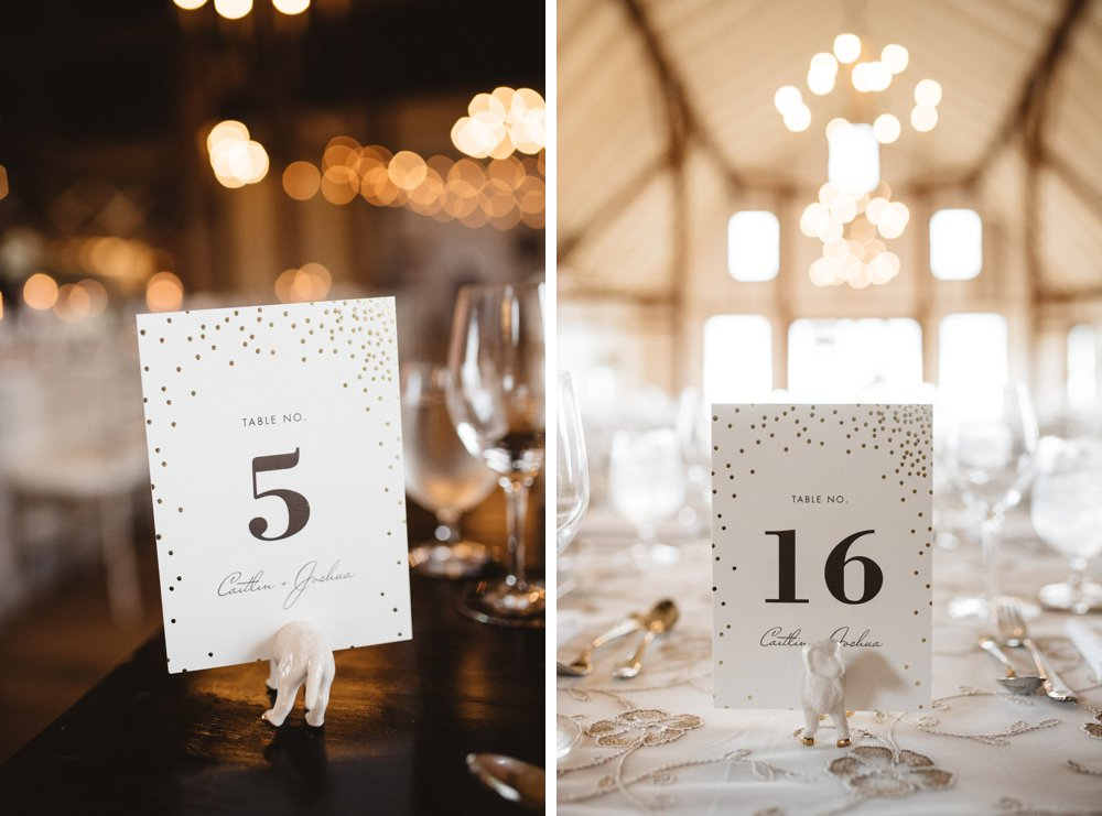 Table Number ideas - Olive Photography