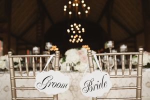 Bride and Groom Signs - Olive Photography