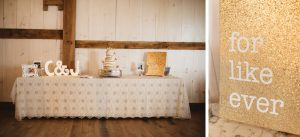 Rustic naked cake - Olive Photography