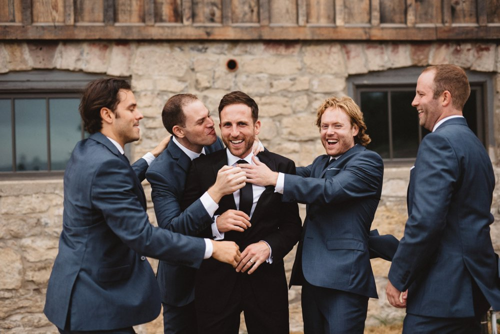 Fun Wedding Party Photos - Olive Photography