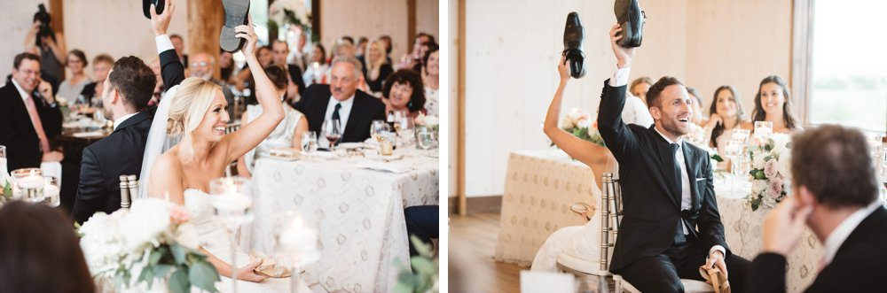 wedding shoe game - Olive Photography