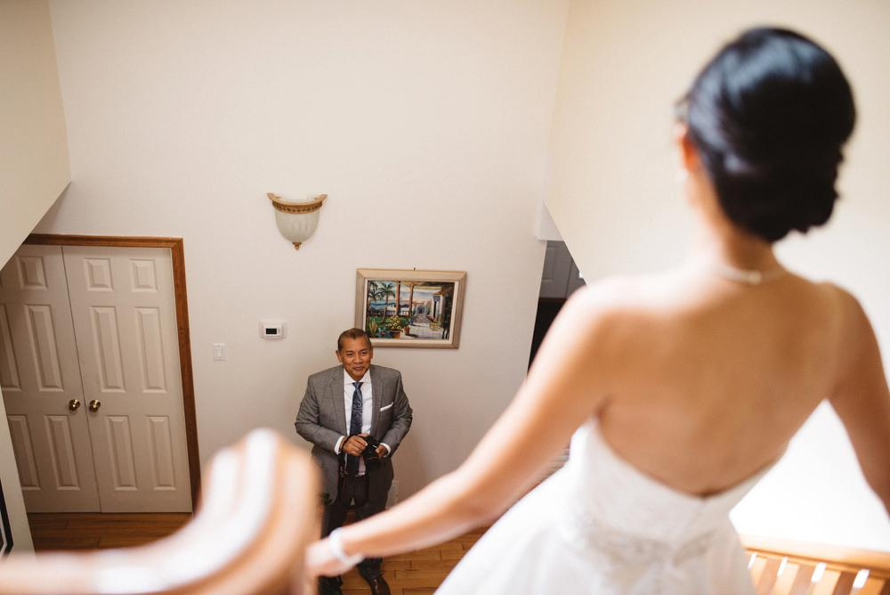 dad first look | Olive Photography