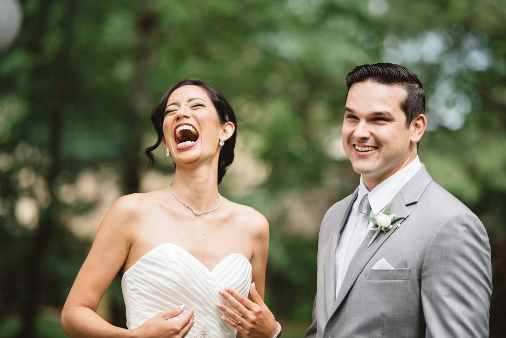 laughing bride | Olive Photography