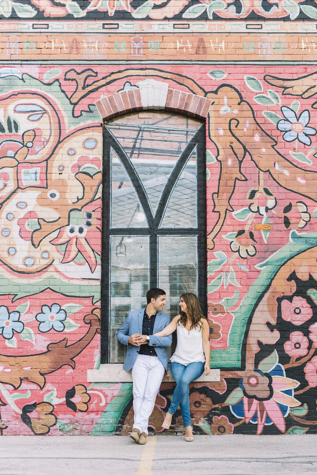 Toronto engagement photo Locations - Liberty Village - Olive Photography