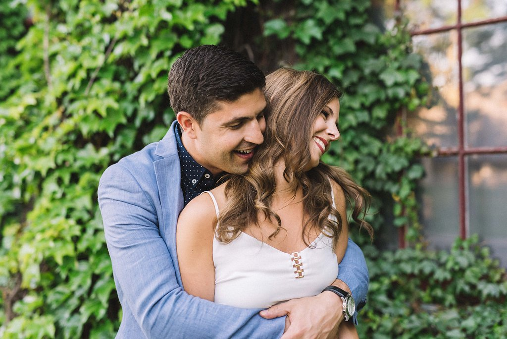 intimate engagement photos - Toronto photographer Olive Photography