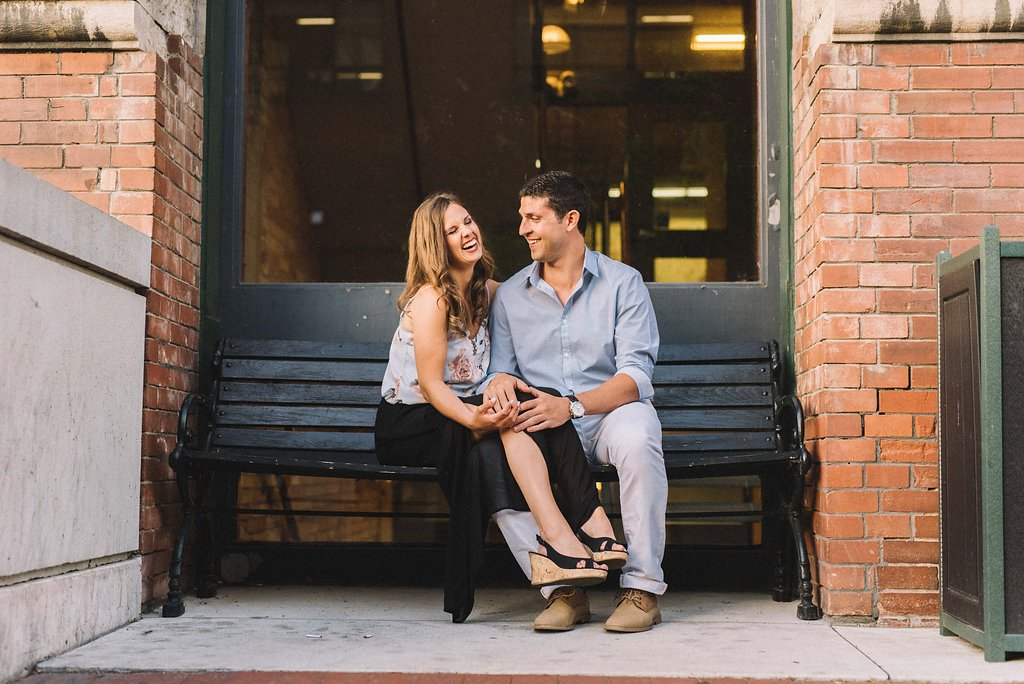 body language engagement photos - Toronto Photographer - Olive Photography Toronto