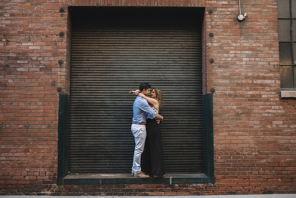 Downtown Toronto engagement photos - Toronto engagement photographer Olive Photography