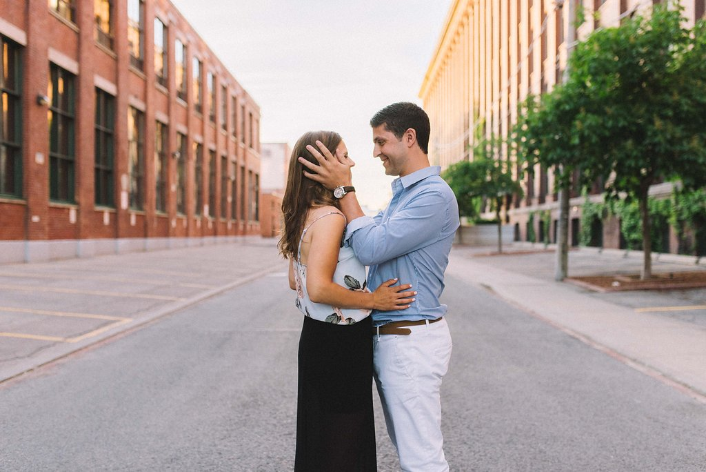 Architecture - downtown Toronto engagement photographer Olive Photography