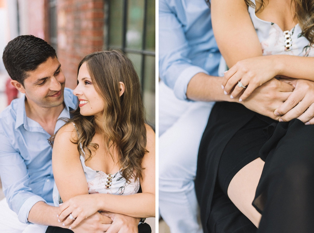 Intimate engagement photography - Olive Photography Toronto