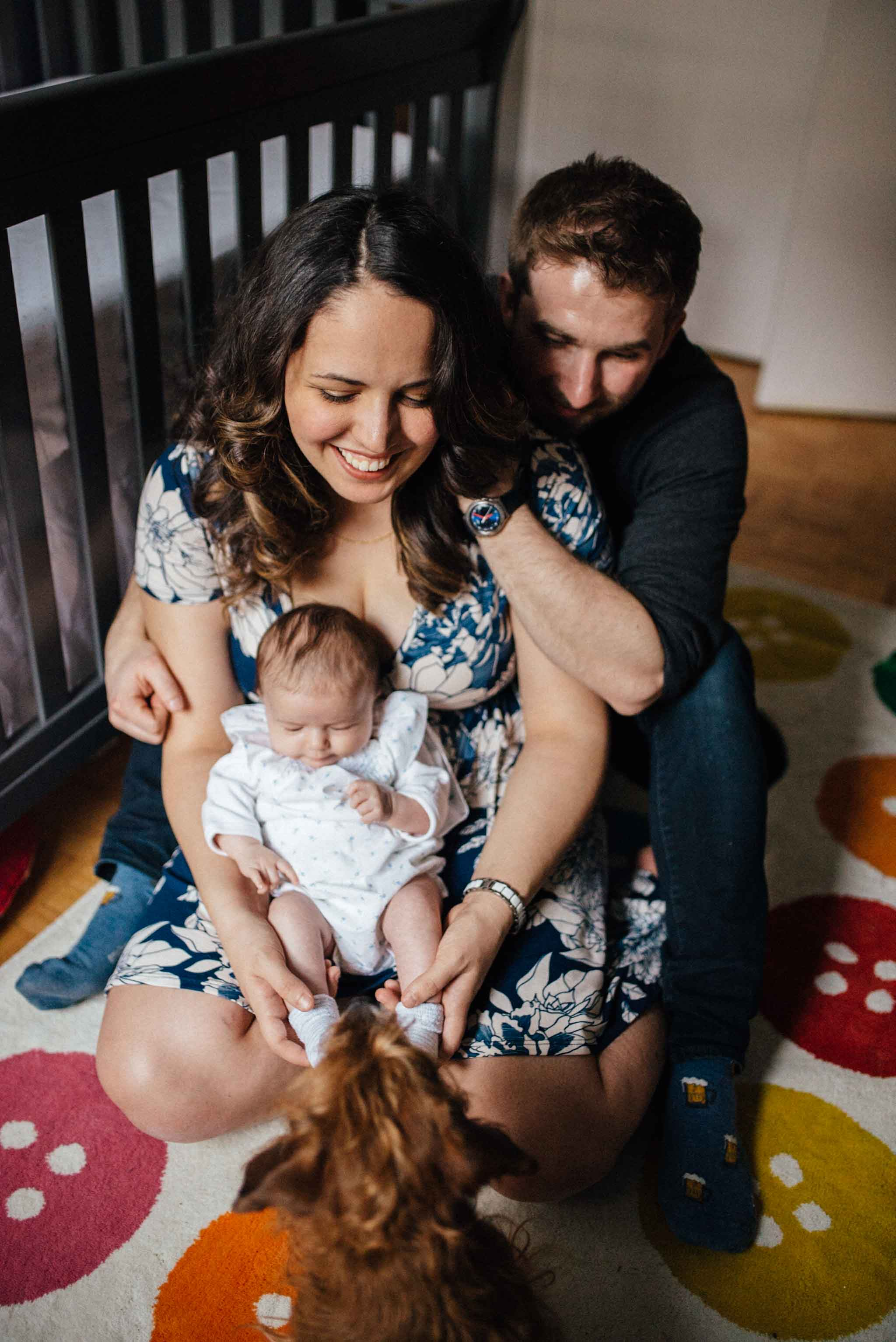 In-home lifestyle family photography | Olive Photography Toronto