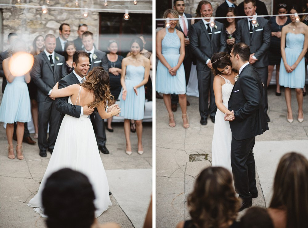 Twinkly Lights first dance - Olive Photography Toronto