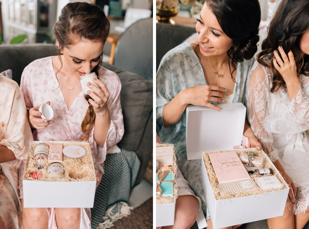 Bridesmaids gift ideas - Olive Photography Toronto
