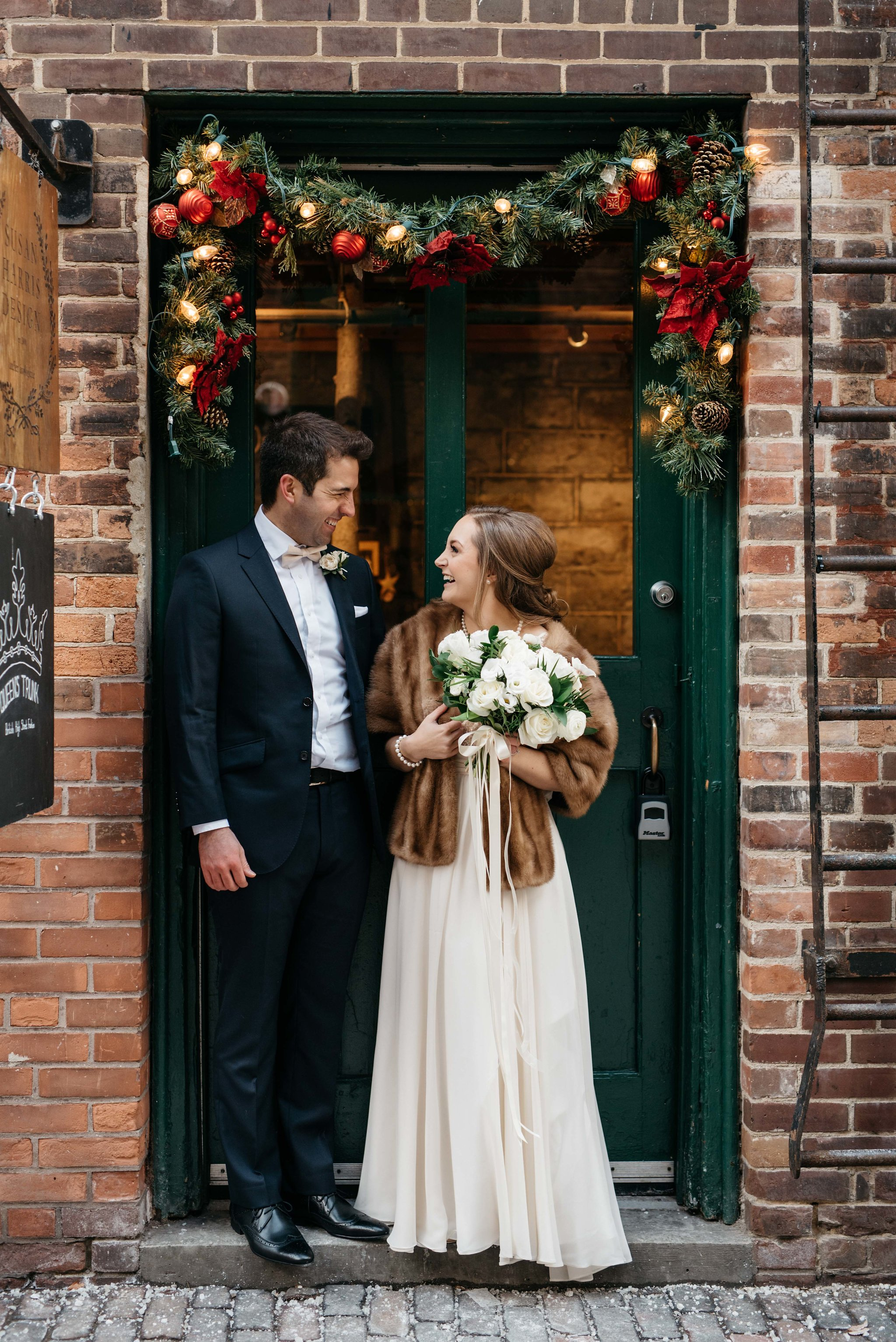 Winter wedding photos - Olive Photography Toronto